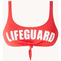 Banana Moon Lifeguard Nouo voorgevormde bandeau bikinitop
