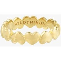 Wildthings L'amour pinkring verguld