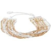 Mint Velvet Multi Chain Layer armband tweekleurig
