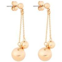 Mint Velvet Gold Double Sphere oorstekers