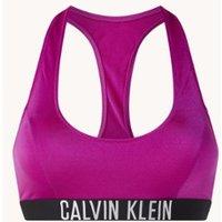 Calvin Klein Bralette bikinitop met logoband en uitneembare vulling