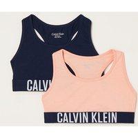 Calvin Klein Bralette met logoband in 2-pack