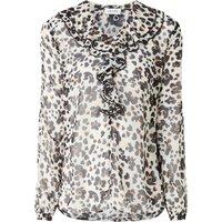 Liu Jo Manhattan blouse met bloemenprint en ruches