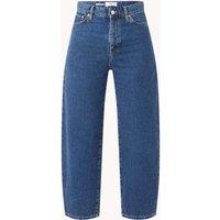 MANGO Antonela high waist loose fit cropped jeans