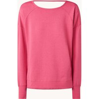 Sweaty Betty Trainings sweater met rugdecolleté