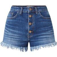 Maje Irina high waist shorts van denim