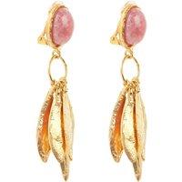 Sylvia Toledano Artsy oorbellen met kristal
