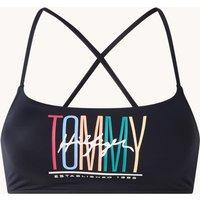 Tommy Hilfiger Bralette bikinitop met logoprint