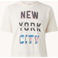 Tommy Hilfiger T-shirt met tekstprint