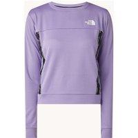The North Face Trainings sweater met mesh en print