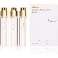 Maison Francis Kurkdjian À la Rose Eau de Parfum - navulling set van 3