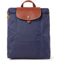 Longchamp Le Pliage rugzak met leren details