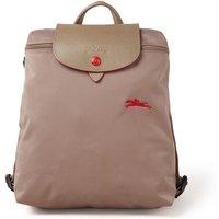 Longchamp Le Pliage Club rugzak met logoborduring