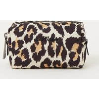 The Marc Jacobs The Beauty Pouch make-up tas met panterprint
