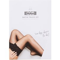 Wolford Satin Touch stay-ups in 20 denier