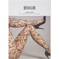 Wolford Florina panty met ingeweven bloemenprint 20 denier