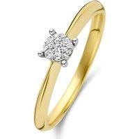 Diamond Point Gouden ring 0-10 ct diamant Enchanted