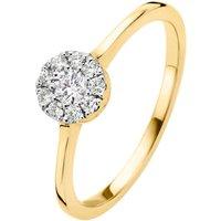 Diamond Point Gouden ring 0-20 ct diamant Hearts & Arrows