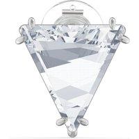 Swarovski Enkel oorknopje met kristal