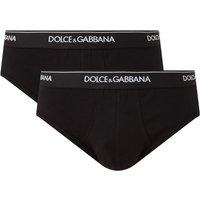 Dolce & Gabbana Slip met logoband in 2-pack
