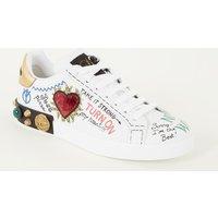 Dolce & Gabbana Portofino Icon sneaker van kalfsleer