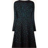 Hobbs Jodie fijngebreide mini jurk met ingebreid patroon
