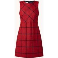 Hobbs Verity mini jurk van wol met ruitdessin