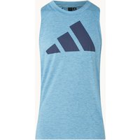 adidas Trainings tanktop met logoprint
