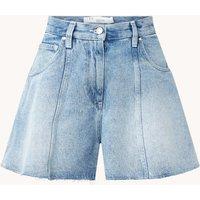 IRO Rajo high waist wide fit korte broek van denim