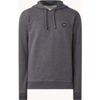 Denham Applique hoodie met logo