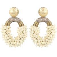 LOTT- gioielli Yara Parel Glassberry oorstekers met kralen