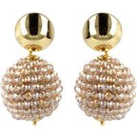 LOTT- gioielli Glasberry Globe oorstekers met kralen