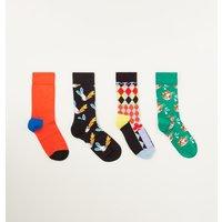 Happy Socks Circus sokken in 3-pack giftbox