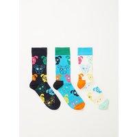 Happy Socks Dog sokken in 3-pack giftbox