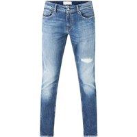 Calvin Klein Slim fit jeans met ripped details