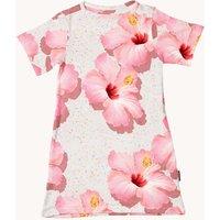 Snurk T-shirt jurk met bloemenprint
