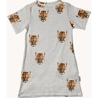 Snurk T-shirt jurk met dierenprint