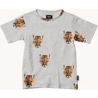 Snurk T-shirt met dierenprint