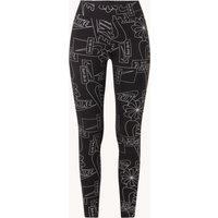 Nike Icon Clash high waist legging met metallic logoprint