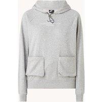 Nike Swoosh trainings hoodie met opgestikte zakken