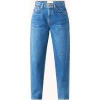 Samsøe & Samsøe Elly high waist loose fit jeans met medium wassing