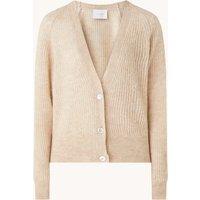 Ivy & Oak Grofgebreid vest in alpaca blend