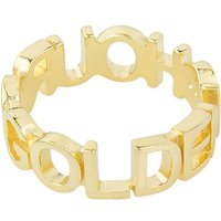 Wildthings Golden Hour ring verguld