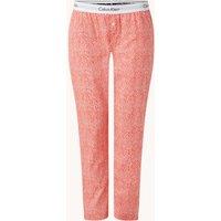 Calvin Klein Pyjamabroek met logoband en steekzakken