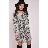 reenie-snake-print-shirt-dress-taupe