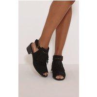jena-black-faux-suede-fringed-sandals-black