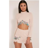 angie-nude-floral-embroidered-crop-top-nude