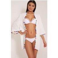 janessa-white-pom-pom-trim-kimono-white