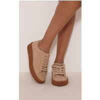 cia-nude-faux-suede-creeper-trainers-nude