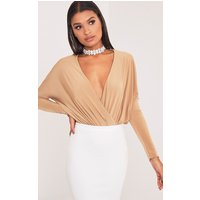 talia-camel-long-sleeve-cross-front-bodysuit-camel